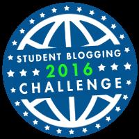STUDENT BLOGGING CHALLENGE 2016